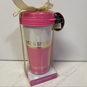 New Juicy Couture travel cup
